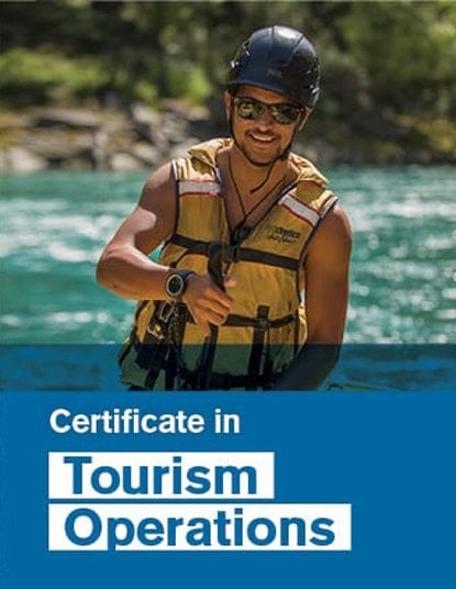 Certificate in Tourism Operations Boy Rafting